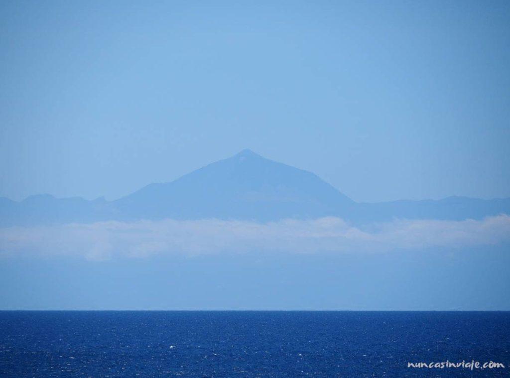 Vistas del Teide desde Gran Canaria