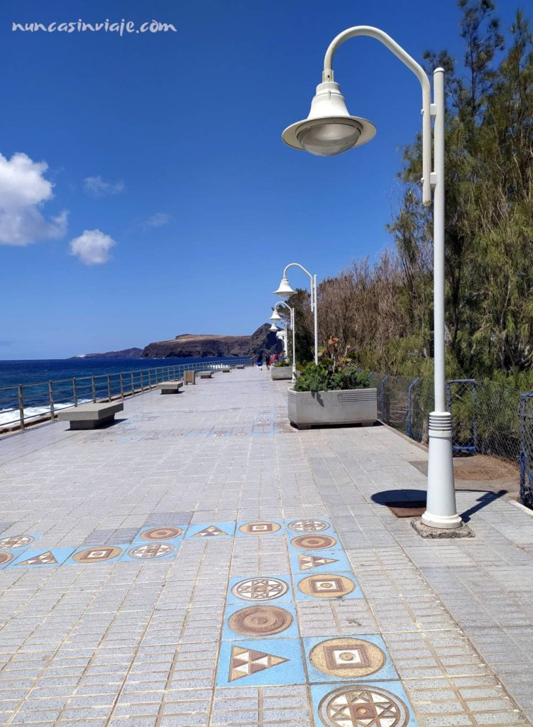 Avenida de los Poetas en Agaete