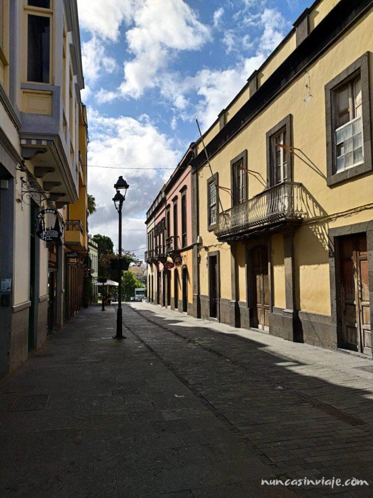 Calle del centro de Arucas