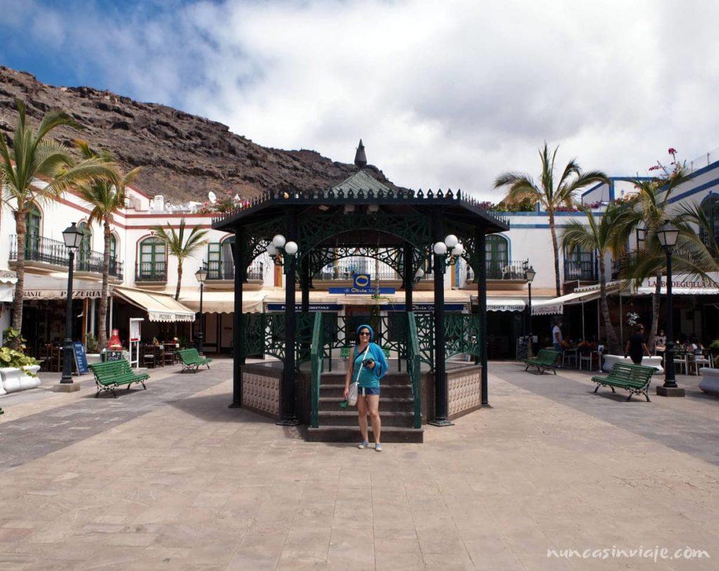 Plaza en Puerto de Mogán