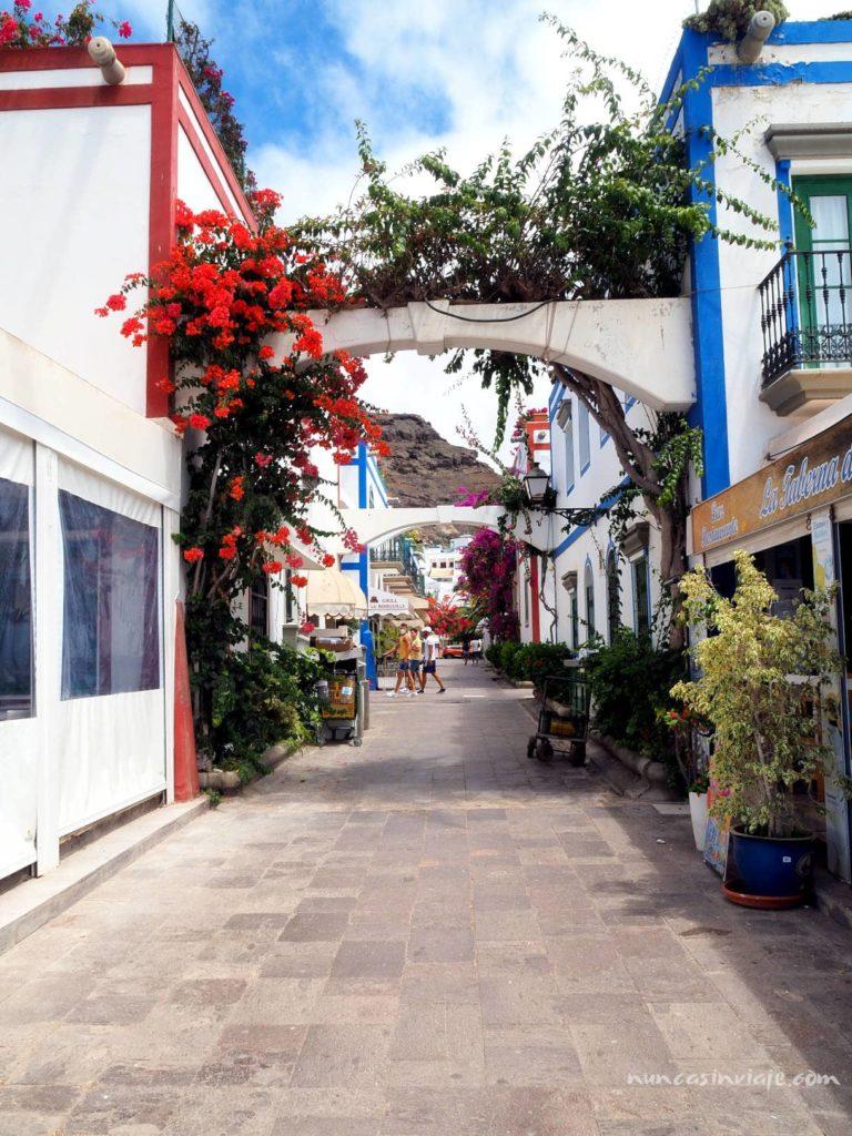 Calle en el Puerto de Mogán