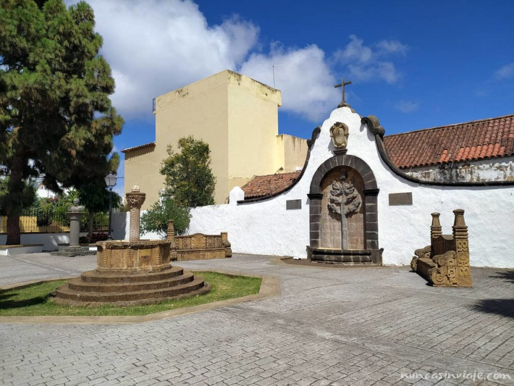 Plaza Teresa de Bolívar en Teror