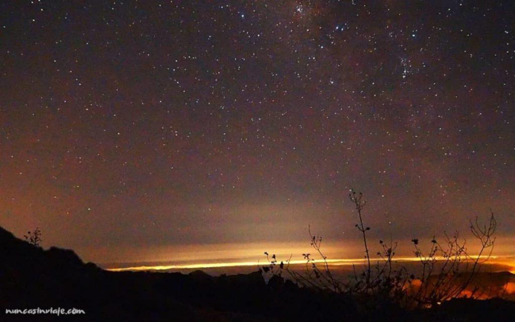 Ver las estrellas desde el Roque Nublo