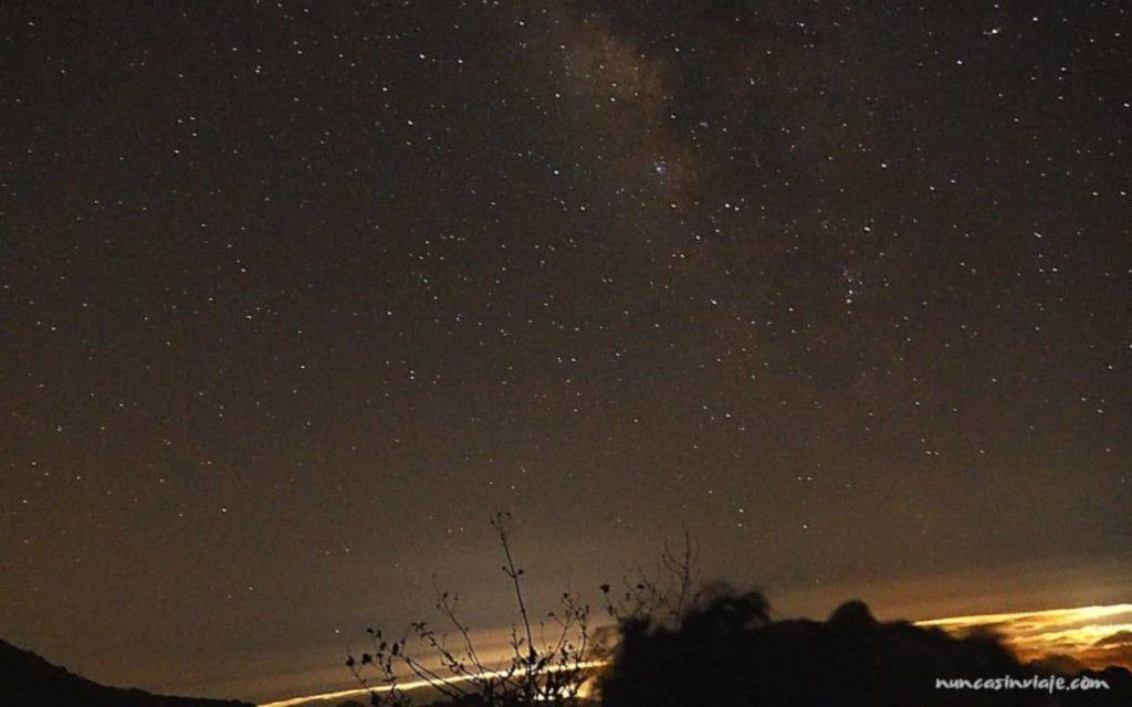 Vía Láctea desde el Roque Nublo