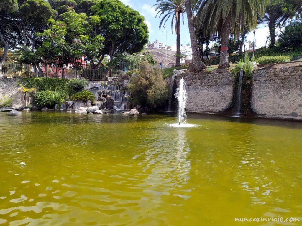 Vistas del Parque Doramas en Las Palmas de Gran Canaria