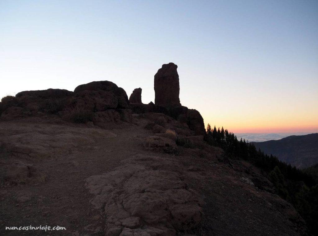 La Rana junto al roque principal