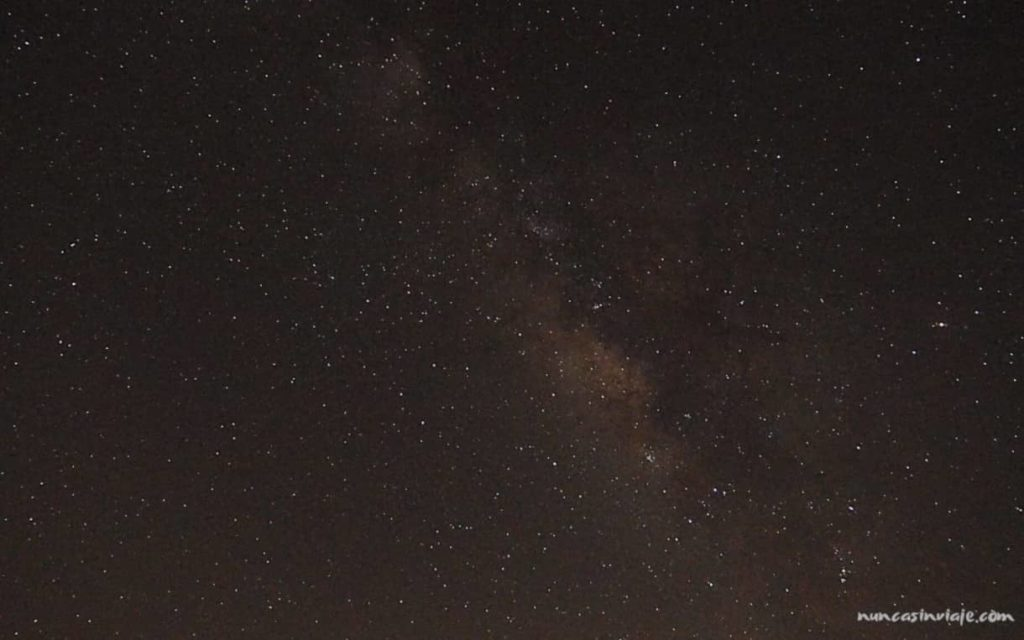 La Vía Láctea desde Gran Canaria