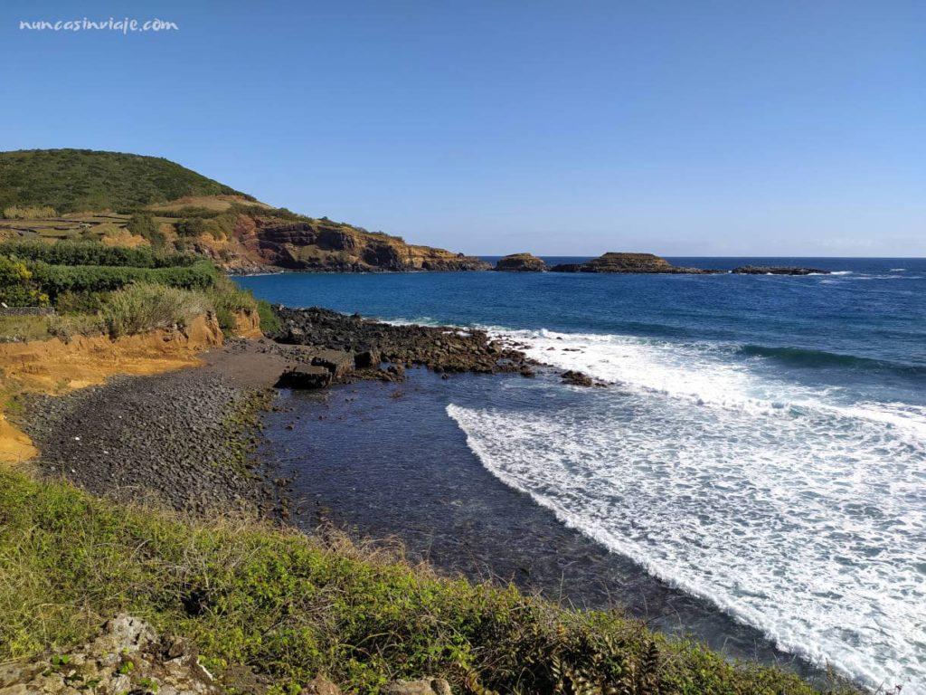 Bahía das Mos en Terceira