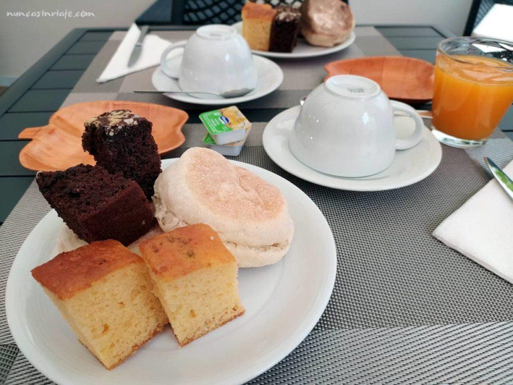 Un buen desayuno en Terceira