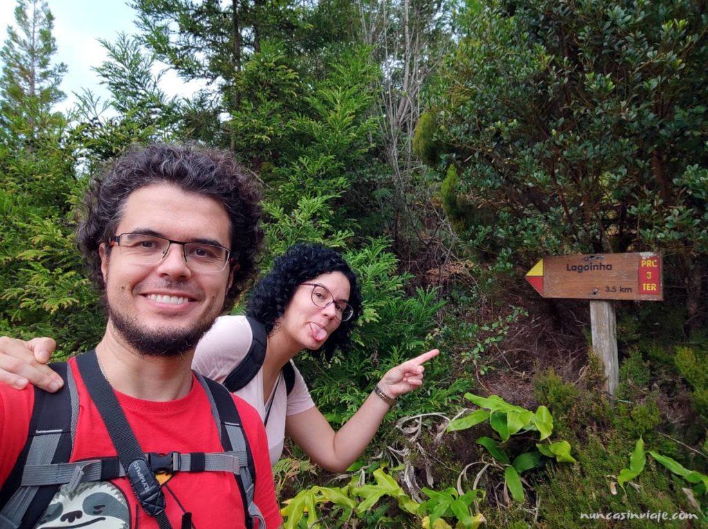 Ruta de senderismo en Terceira