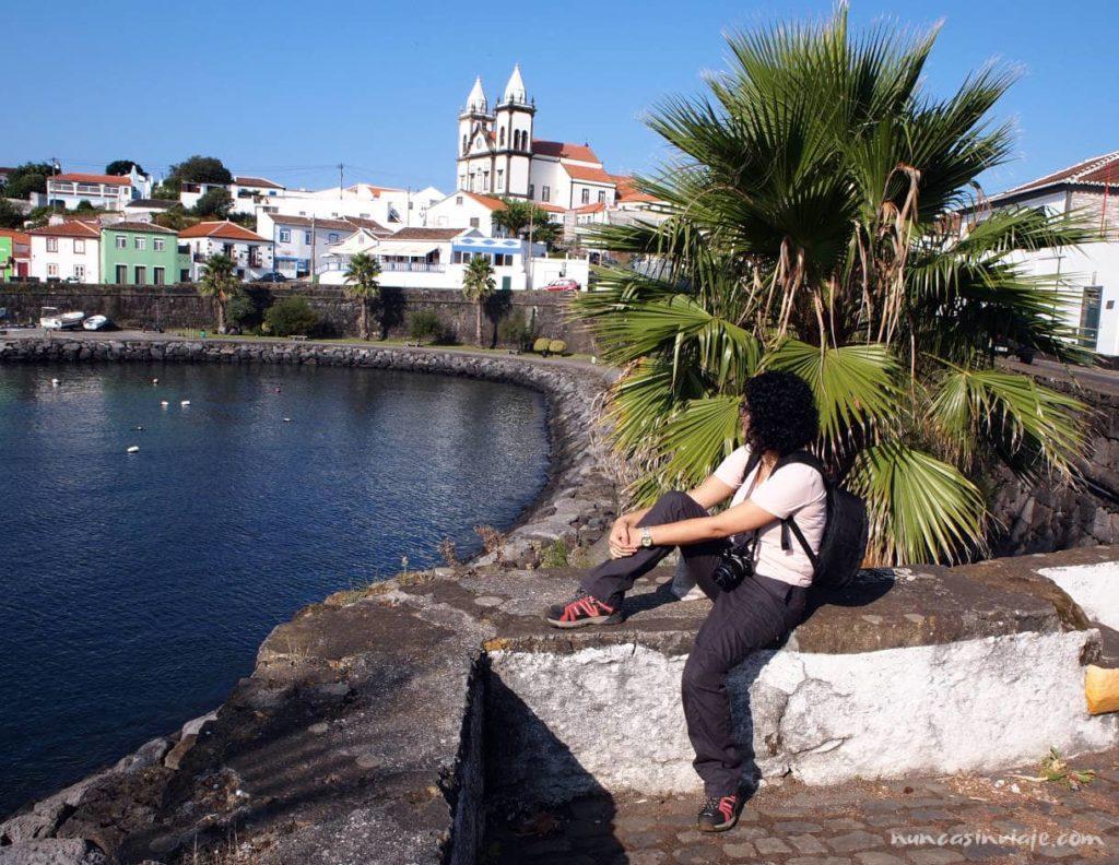 Puerto pesquero en Terceira