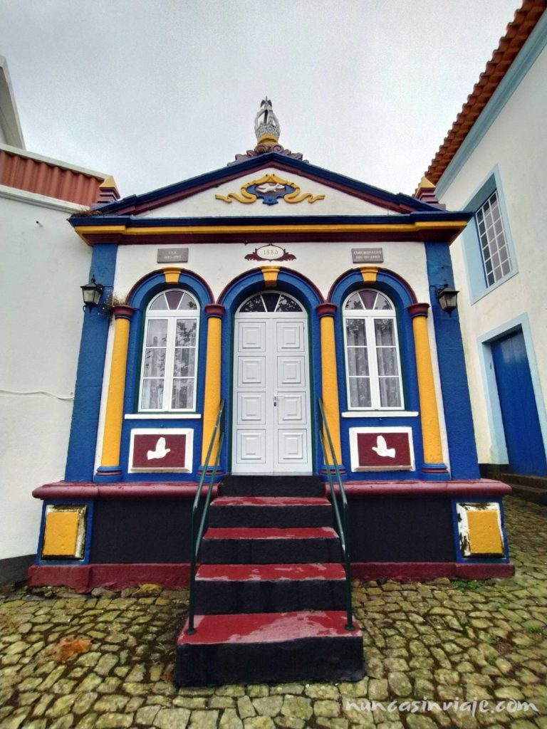 Imperio en un pueblo de Terceira