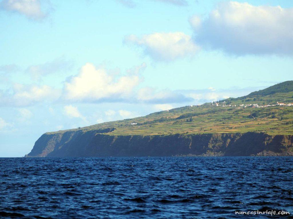 Isla Terceira desde el Mar