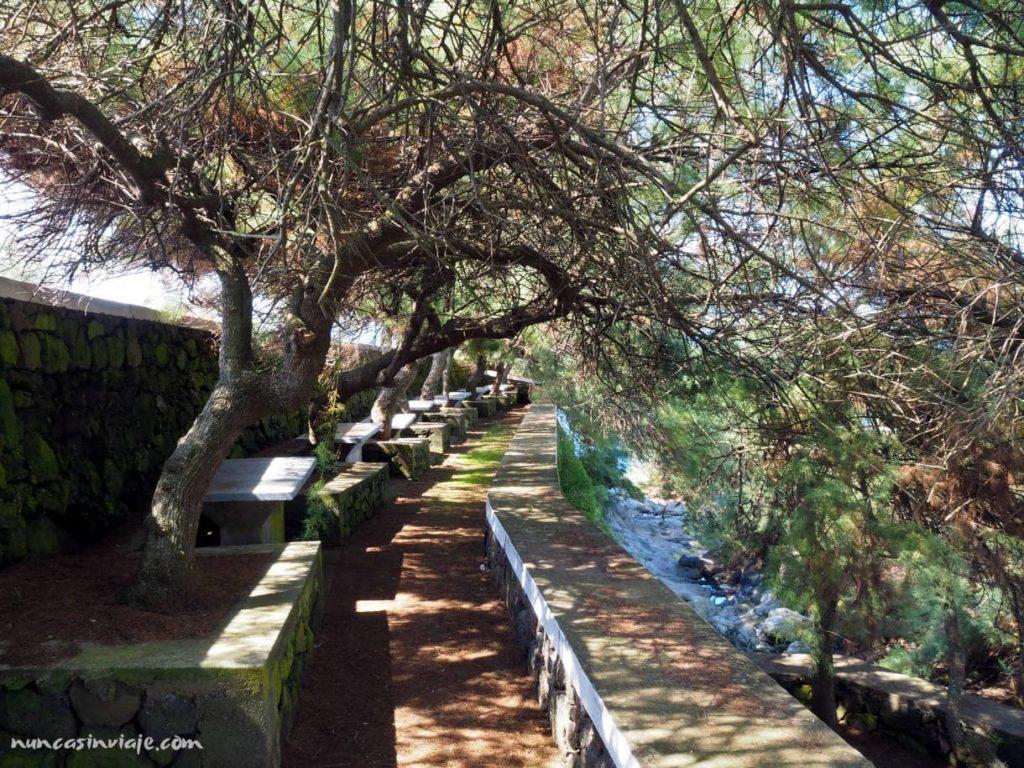 Área de descanso en Terceira